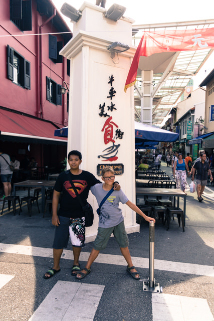 Yves e Pande a Chinatown