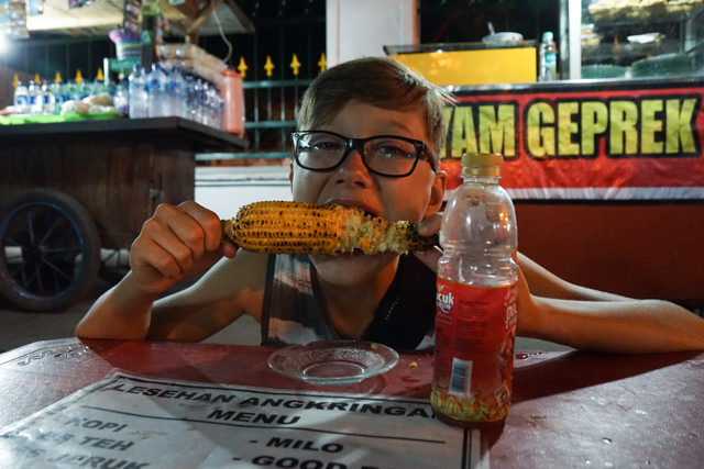 I like corn on the cob!