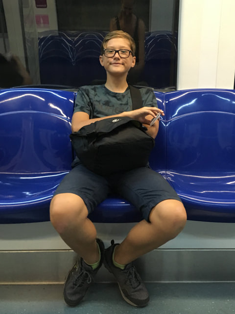 I like using the subway in Singapore!