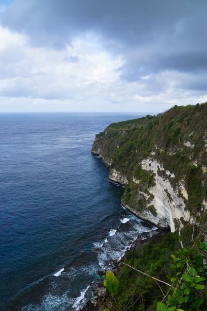 Wow! The cliff is quite high!