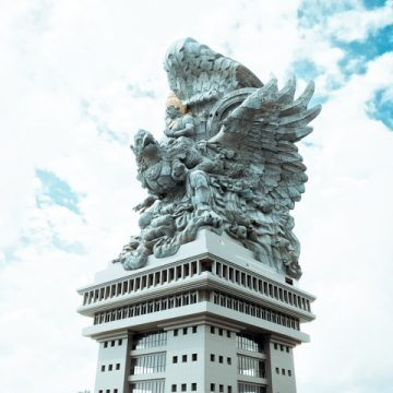 The Garuda Wisnu Kencana Statue is really amazing!