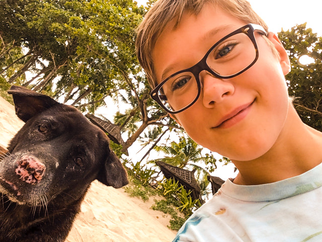 Dog-Selfie, second try