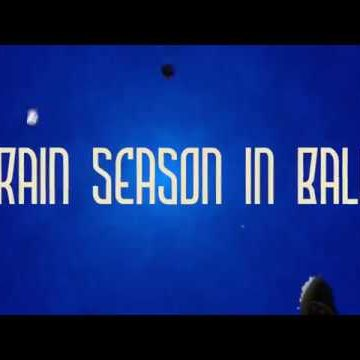 My video about the rainseason in Bali