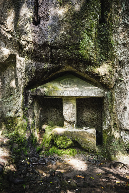 The whole temple is carved into the stone
