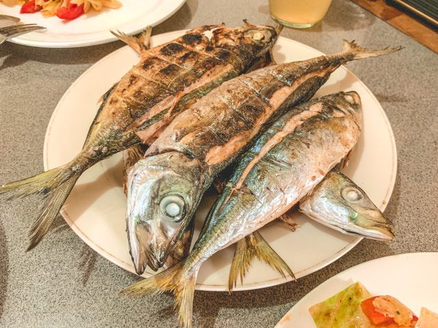 I just love grilled fish