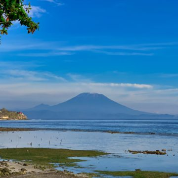 Mount Agung in all its beauty