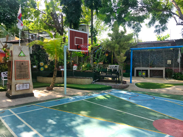 We even have two sports playgrounds